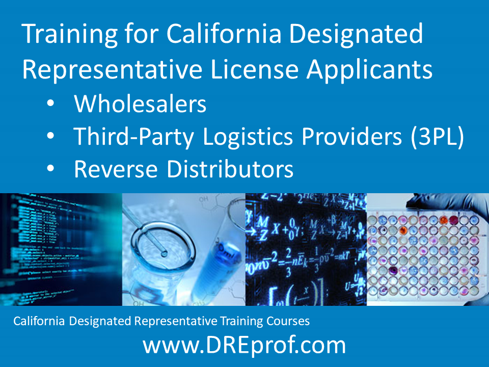 California Designated Representative Training Courses