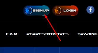 Регистрация в Mega Traders