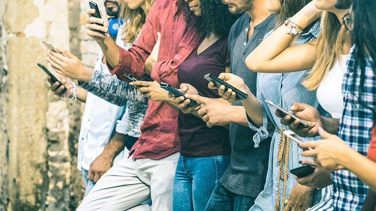 España el país europeo más enganchado al móvil