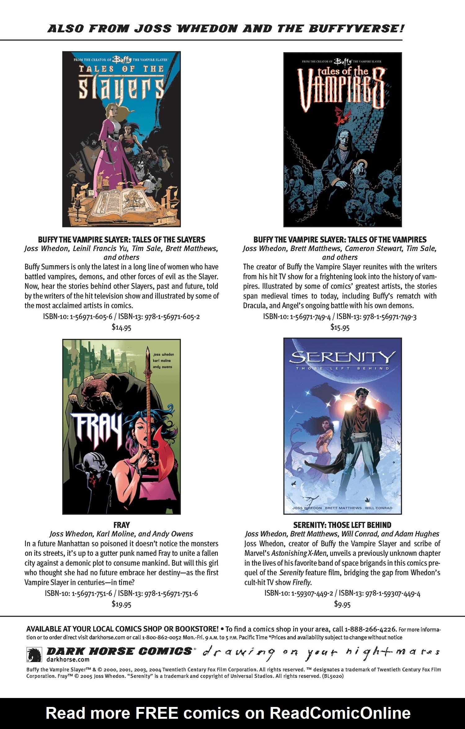 Read online Buffy the Vampire Slayer: Omnibus comic -  Issue # TPB 2 - 311