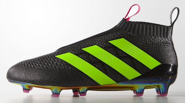 separation shoes 3c2af 8dceb Adidas Ace 16+ PureControl - Core Black   Shock Pink   Solar Green