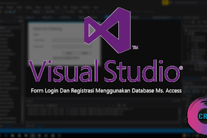 Membuat Form Login Dan Pendaftaran Di Vb.Net + Access Database