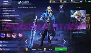Build Alucard Terkuat Terbaru