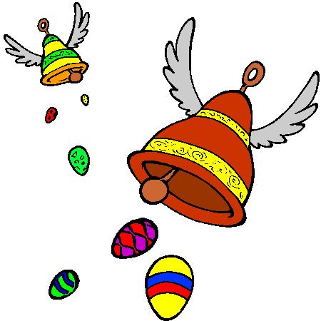 Le blog de madame birtwistle les cloches volantes - Cloches de paques ...