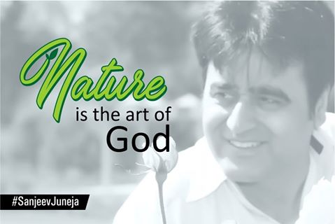 Sanjeev Juneja enjoy the Art of God