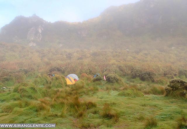 mt. apo campsite