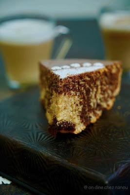 marbré , gâteau facile