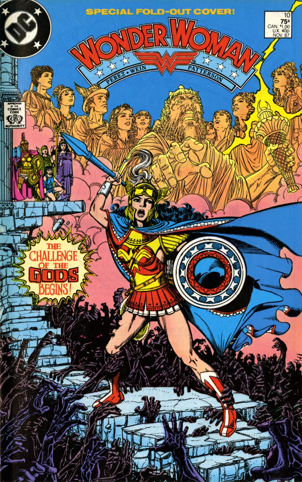Read online Wonder Woman (1987) comic -  Issue #10 - 1