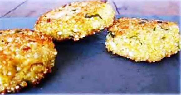 Croquetas De Quinoa Y Zanahoria