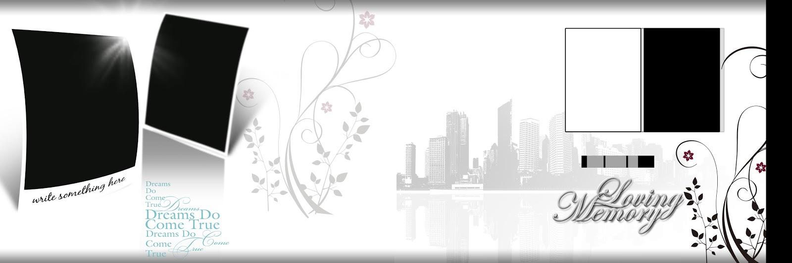 Karizma Album Design 12x36 With Flower Photo Frame - Luckystudio4u