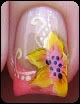floral-french-manicure