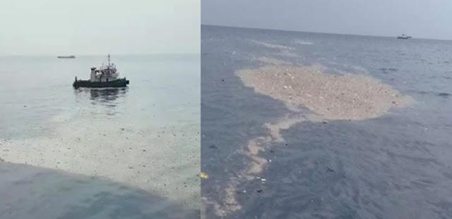 Merinding! Video Pesawat Lion Air Jatuh di Laut, Barang Penumpang Berserakan