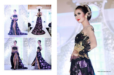 Gambar Baju Kebaya Modern Gaun