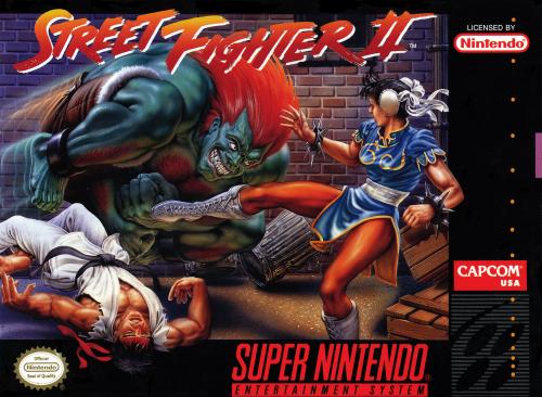 Street Fighter II (Super Nintendo)