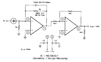 Current to Voltage Converter Circuit Diagram