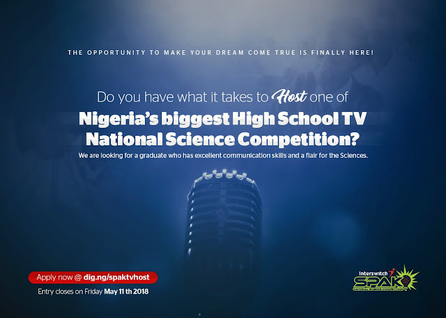 Dc0s6L8U8AAYXe4 INTERSWITCH SPAK NIGERIA HIGH SCHOOL TV NATIONAL SCIENCE COMPETITION 2018