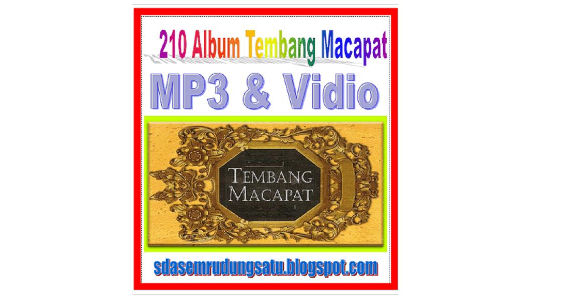 210 Album Tembang Macapat MP3
