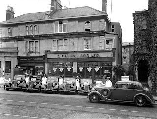 C Allen and Son (Bristol) Ltd, Whiteladies Road showroom