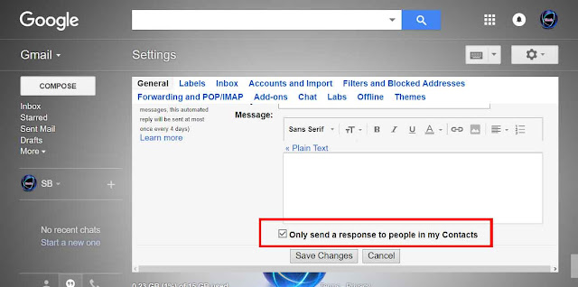 How to Set Up a Gmail  Vacation Responder