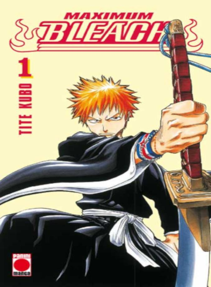 Bleach Maximum manga Panini Cómics
