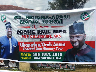 Federal Constituency Tour: Nana Udom eulogizes PDP