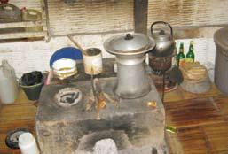 Tungku dapur tanah liat