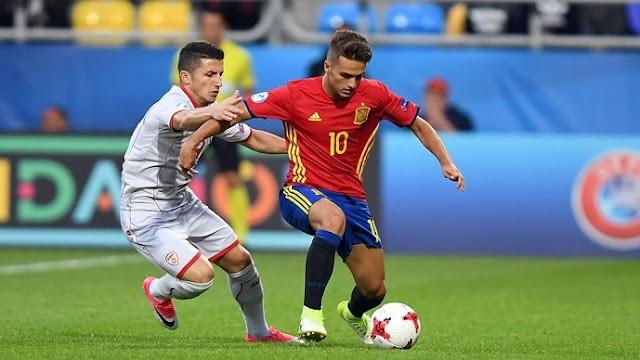 Macedonia falls to Spain in U21 Championship