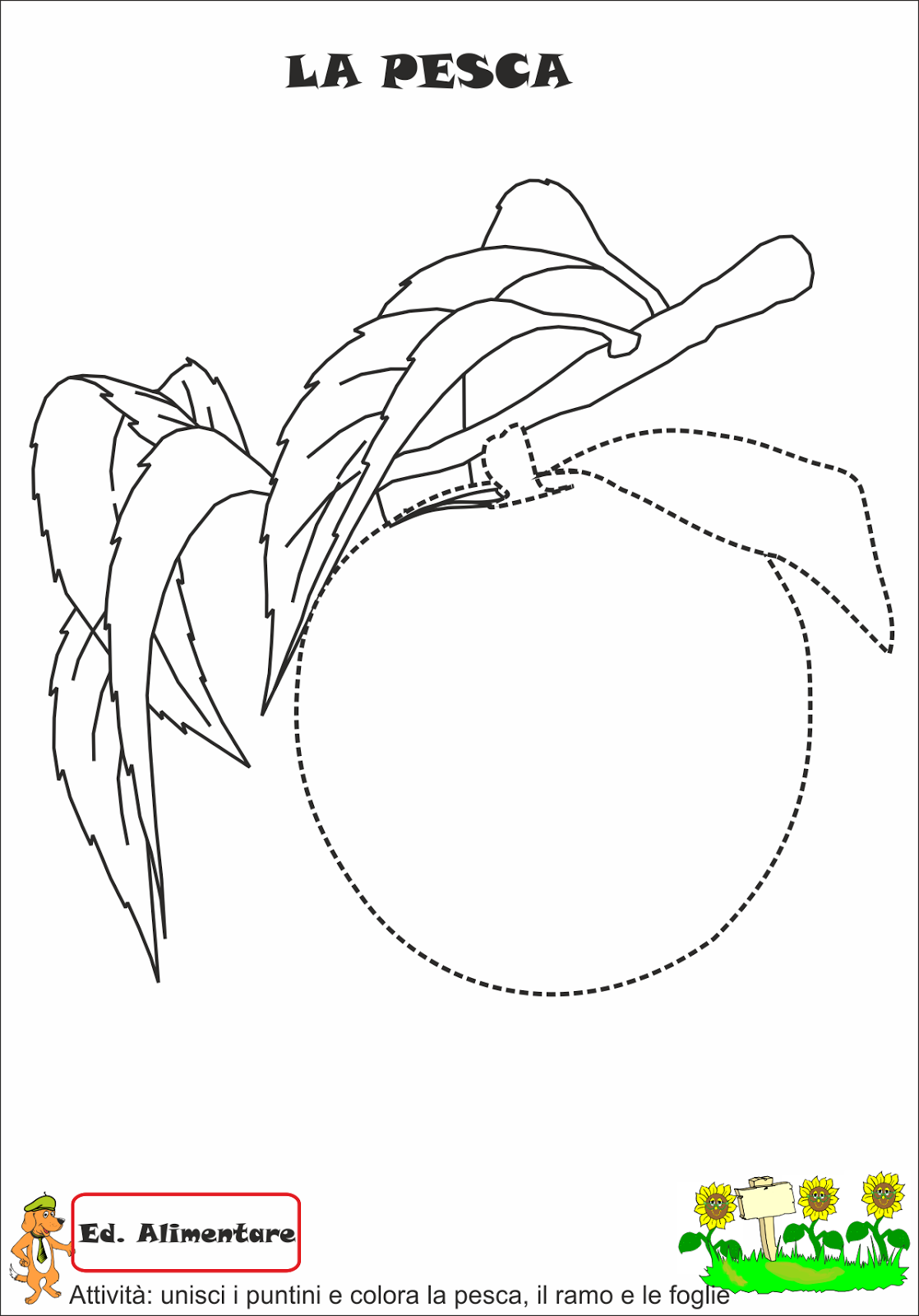 A Scuola Con Poldo La Frutta Dell Estate