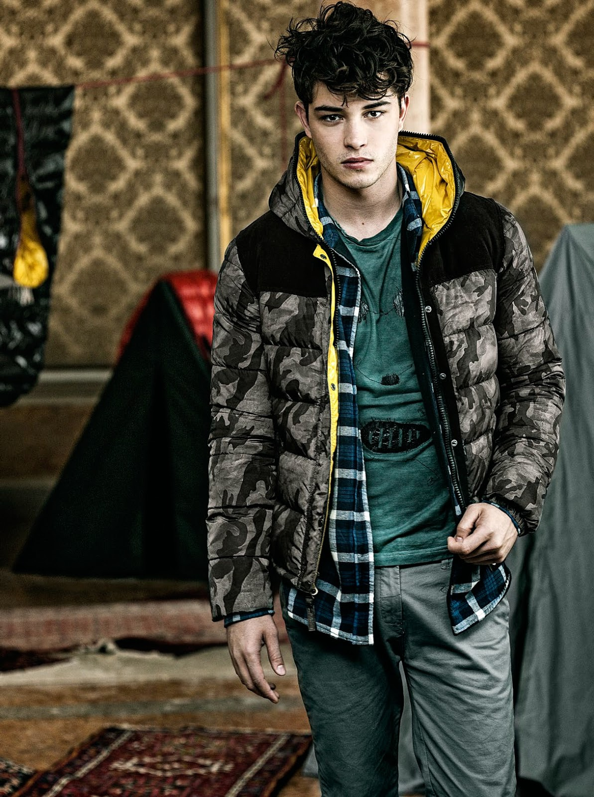 Male Model Otaku: Francisco Lachowski: Duvetica Fall ...