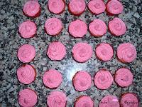 Mini cupcakes listos