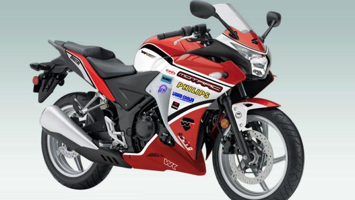 ZJMM R12 (Giả) vs Honda CBR 250R (Thật)