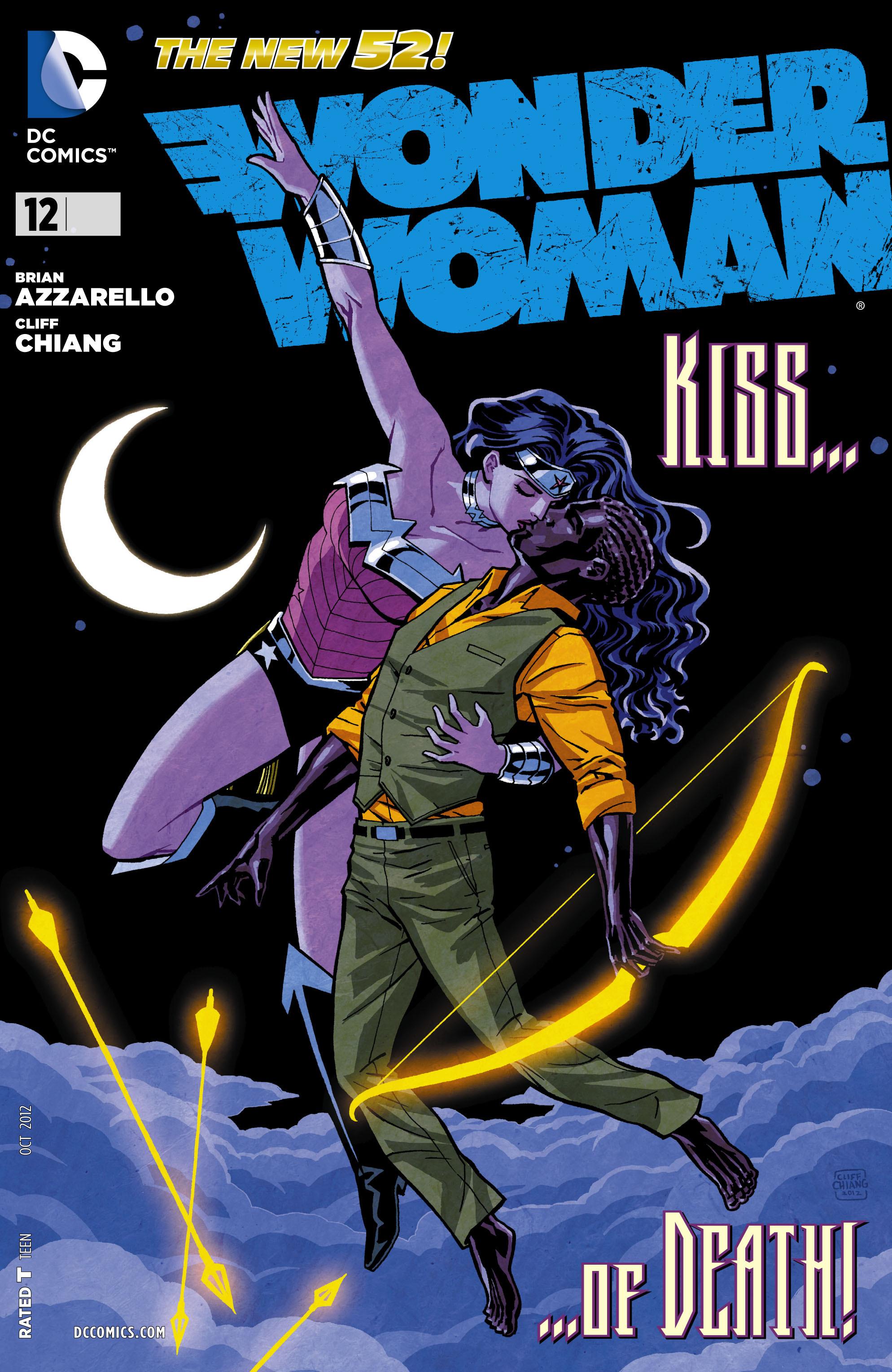 Read online Wonder Woman (2011) comic -  Issue #12 - 1
