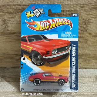 HOT WHEELS '70 FORD MUSTANG MACH 1 MUSCLE MANIA