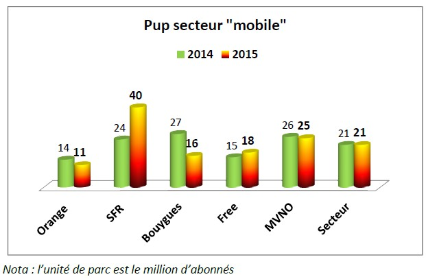Le pup en 2015