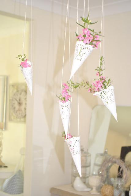 napperons dentelle papier DIY