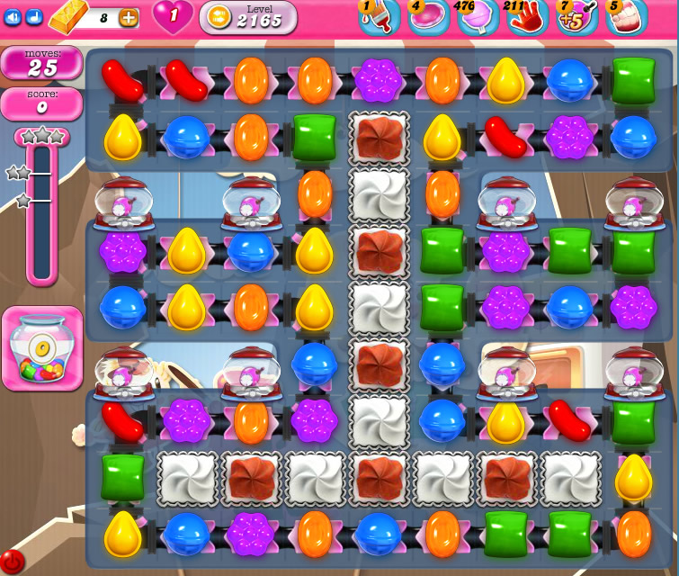 Candy Crush Saga level 2165