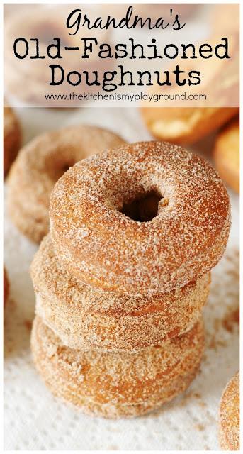 Homemade Cinnamon Sugar Donuts image
