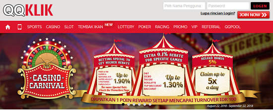 QQKLIK SITUS GAMES LIVE CASINO ONLINE MOBILE TERPERCAYA INDONESIA