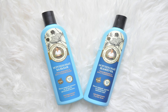 duo do włosów moroszka agafii - szampon i balsam