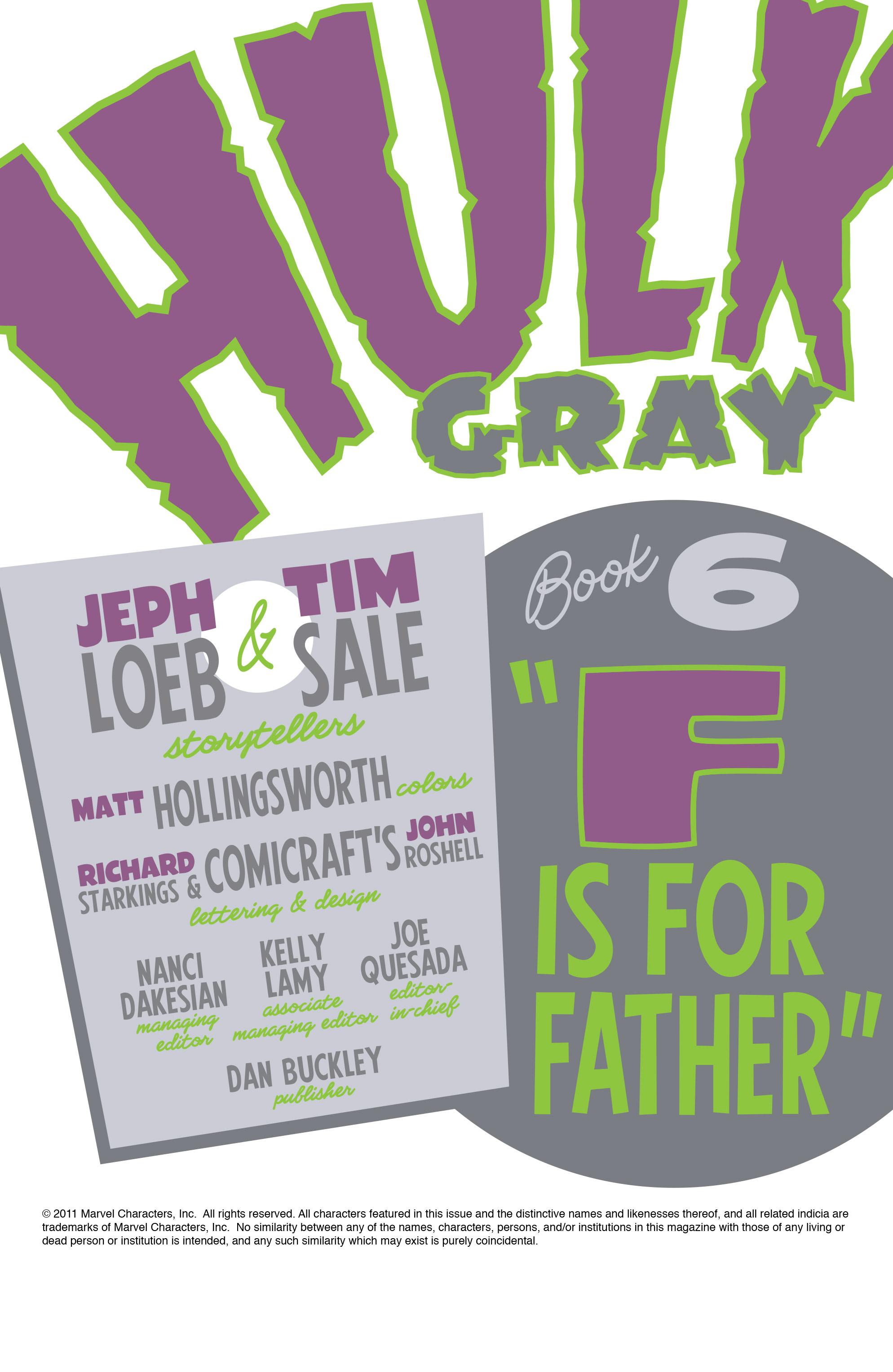 Read online Hulk: Gray comic -  Issue #6 - 2