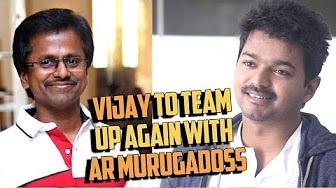 Vijay to team up again with AR Murugadoss