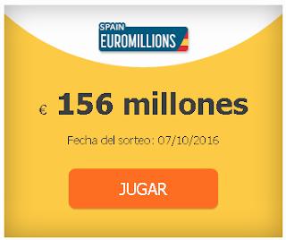 156 millones en los euromillones