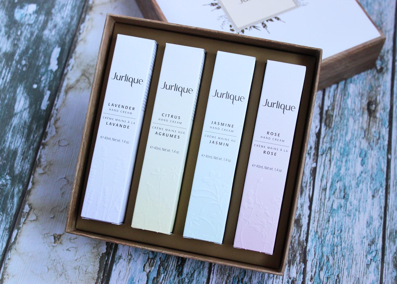 Jurlique complete range of moisturising hand creams