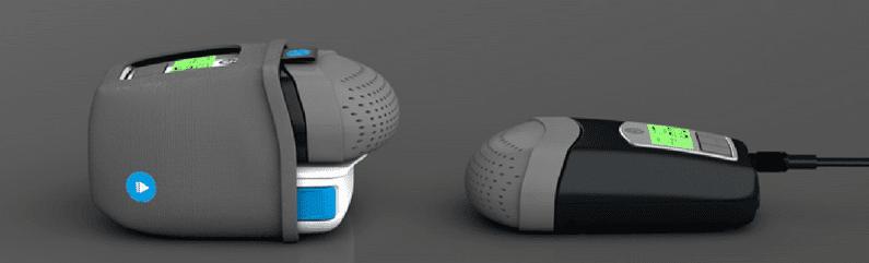 Pierwsze wrażenia: HDM Z1 Auto CPAP z baterią PowerShell
