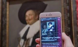 Η απαραίτητη εφαρμογή στο κινητό για το μουσείο: Σκανάρεις το έργο και σου δίνει πληροφορίες