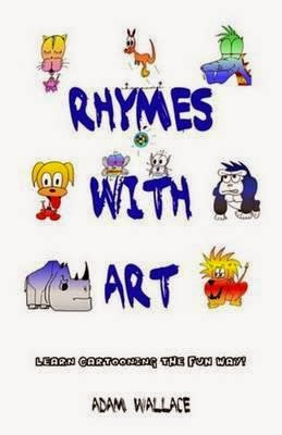 kids book review review rhymes with art cartooning the fun way