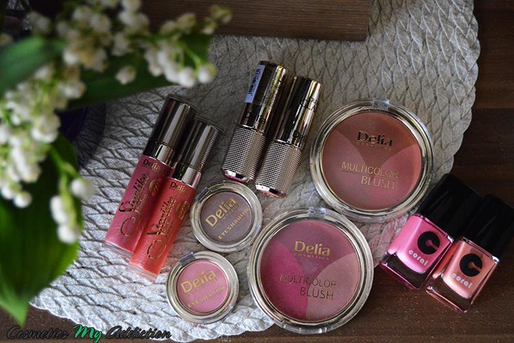 DELIA | Kolekcja makijażowa Trend Look wiosna-lato 2015