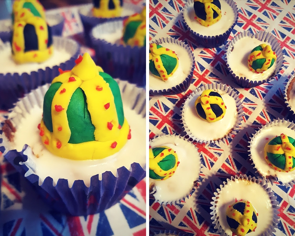 Queens Crown Cupcakes And Throwing A Street Party Tips