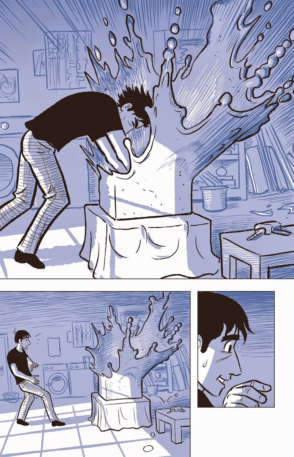 david the sculptor scott mccloud