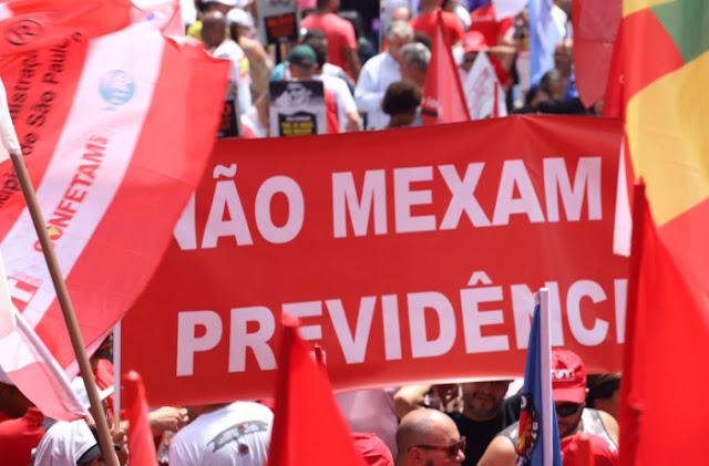 HOJE: Paraíba realiza ato contra a Reforma da Previdência